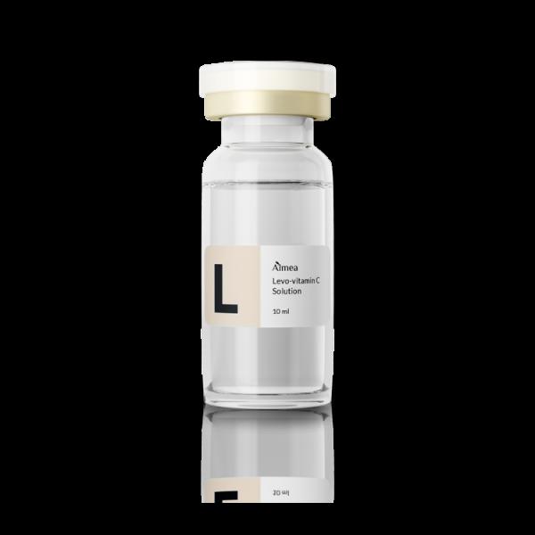 Levo-vitamin C solution