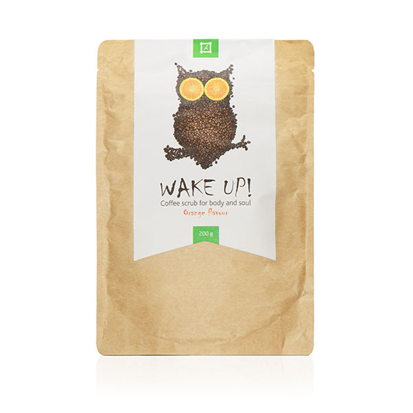 Wake Up Coffee scrub Orange