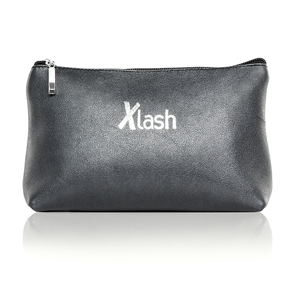 Almea Черная косметичка с логотипом Xlash