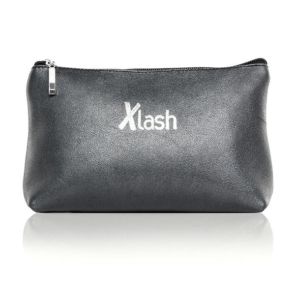 Черная косметичка с логотипом Xlash | Рост Ресниц