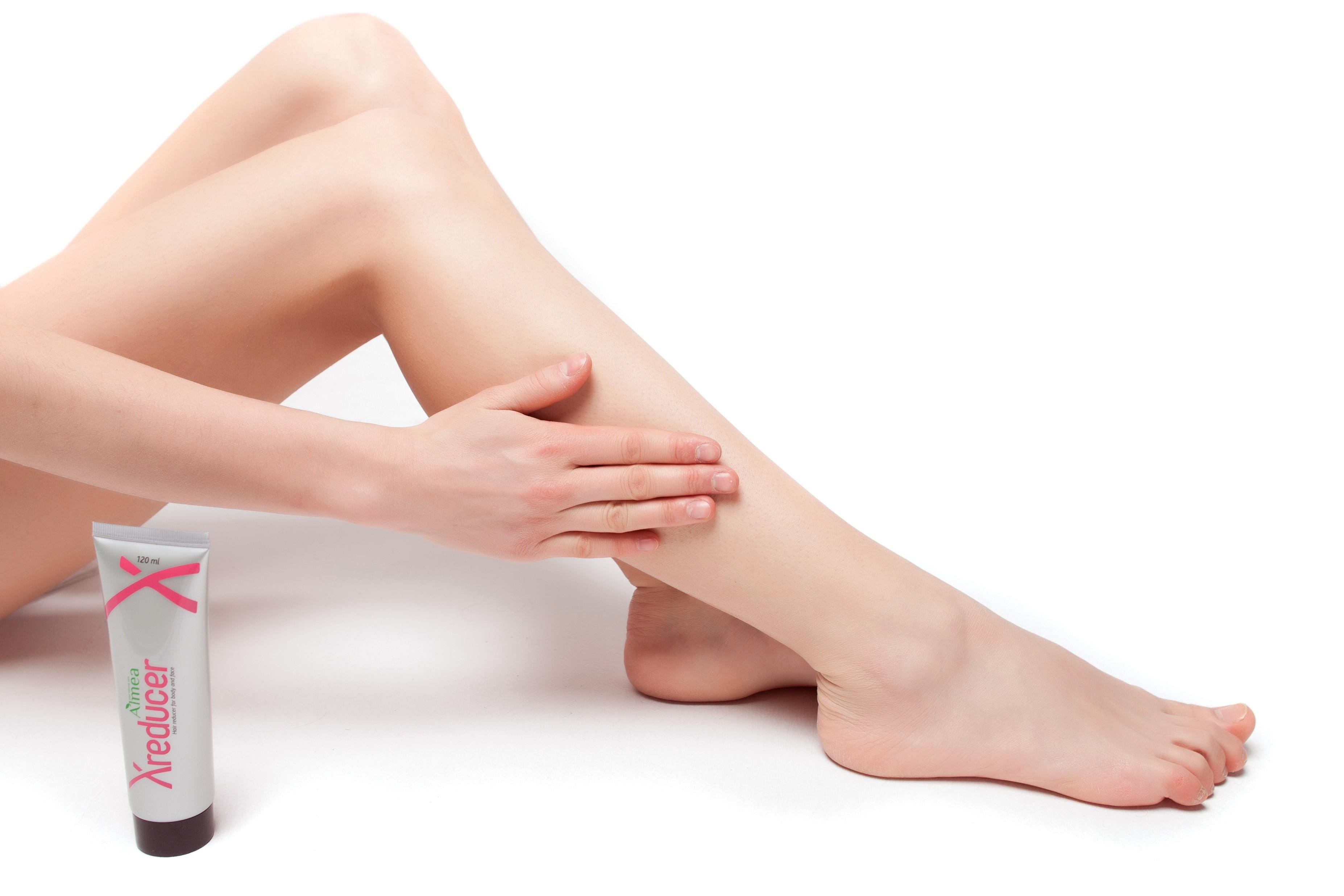Чтобы ножки блестели как у модели